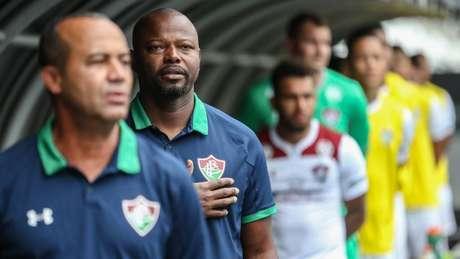 Marcão destacou o espírito da equipe do Fluminense no clássico (Foto: Lucas Merçon/Fluminense)