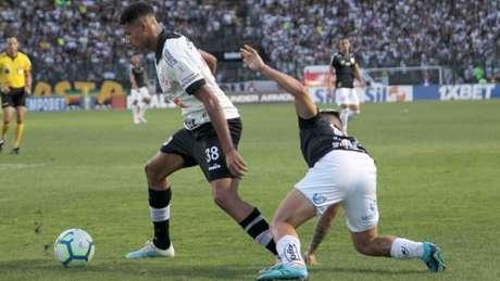 Marrony começou jogando e teve chances de fazer gol, mas pegou (Paulo Sergio/Agência F8/Lancepress!)