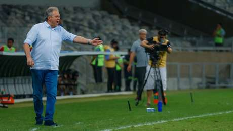 Abelão gostou do que viu da Raposa no empate com o time gaúcho- (Vinnicius Silva/Cruzeiro)