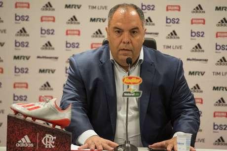 Na última rodada, o presidente do Palmeiras falou que a arbitragem tem sido parcial (Foto: Alexandre Vidal/CRF)