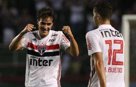 Igor Gomes pode aproveitar as ausências de Daniel Alves e Antony para voltar a ser titular do São Paulo Foto: Rubens Chiri/saopaulofc.net)