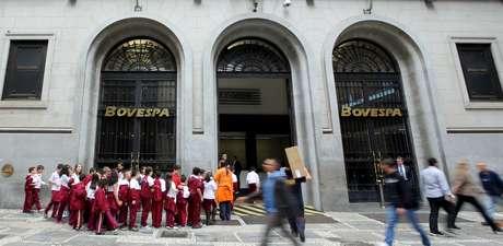 Fachada da Bolsa de Valores de São Paulo  10/09/2015 REUTERS/Paulo Whitaker