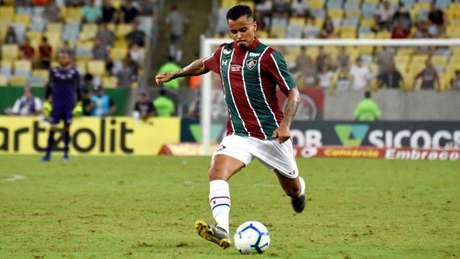 Allan chama a atenção do Santos (Foto: Mailson Santana/Fluminense)