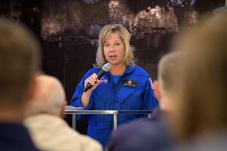 Diretora da Nasa para programas de voos espaciais, Tricia Mack.