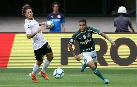 Dudu garantiu o empate do Palmeiras contra o Galo (Foto: Divulgação/SEP)