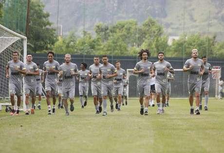 Titulares fazem recuperação física e reservas coletivo (Foto: Rafael Ribeiro/Vasco)