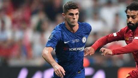 Pulisic não tem as chances que gostaria no Chelsea (OZAN KOSE/AFP)