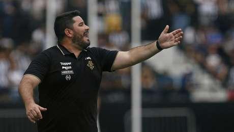 Eduardo Barroca foi comandante do Botafogo por seis meses (Vitor Silva/Botafogo)