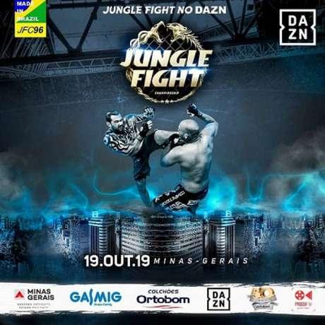 Jungle Fight 96 será realizado no dia 19 de outubro, em Minas Gerais (Foto: Divulgação)
