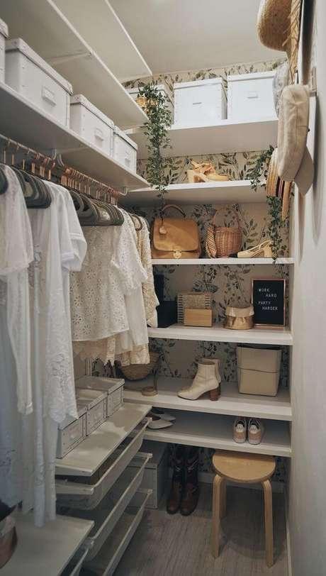 1. O closet aberto vem se tornando muito popular. Foto: Original Home