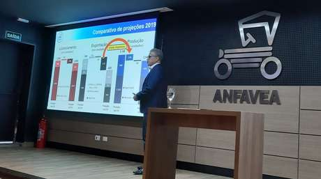 Luiz Carlos Moraes, presidente da Anfavea: indústria sofre os efeitos da crise na Argentina
