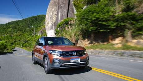 O T-Cross é o primeiro SUV compacto da Volkswagen.
