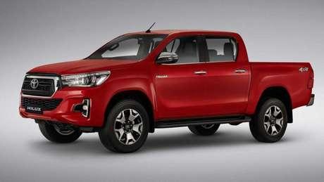 Toyota Hilux: depreciação média de 5,8%.