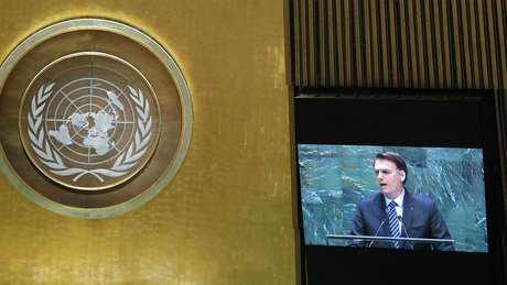 Houve uma expectativa frustrada de que Bolsonaro usasse o discurso na ONU para apresentar dados positivos de combate aos incêndios na Amazônia