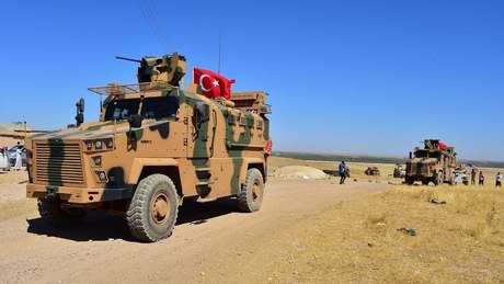 Tropas turcas têm atuado com americanos no norte da Síria