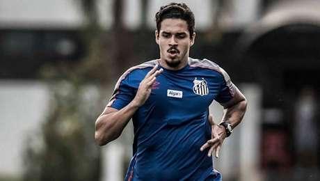 Lucas Veríssimo, zagueiro do Santos