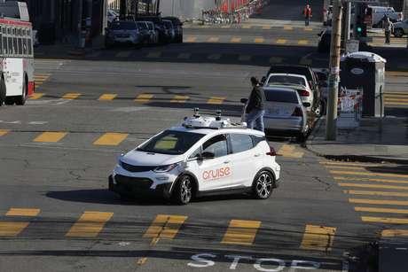 Chevrolet Bolt EV, carro autônomo da General Motors  28/11/2017 REUTERS/Elijah Nouvelage