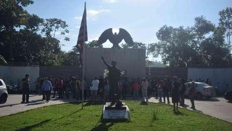 Tragédia no Ninho do Urubu completa oito meses nesta terça-feira (8) (Foto: Adriano Fontes/AM Press/Lancepress!)
