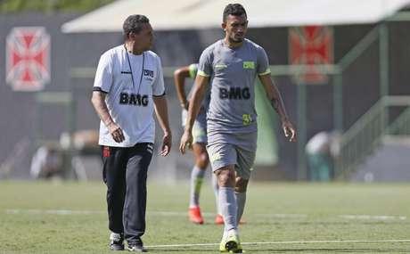 Raul preocupa o Vasco para a próxima rodada (Foto: Rafael Ribeiro/Vasco)