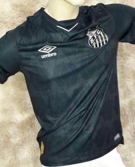 Santos anunciou a parceria com a Braziline até o fim de 2022 (Reprodução/Twitter)