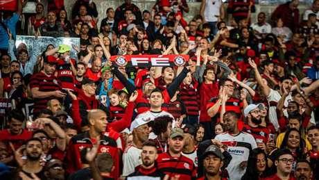 Torcida do Flamengo tem comparecido em peso no Maracanã (Foto: Paula Reis/Flamengo)