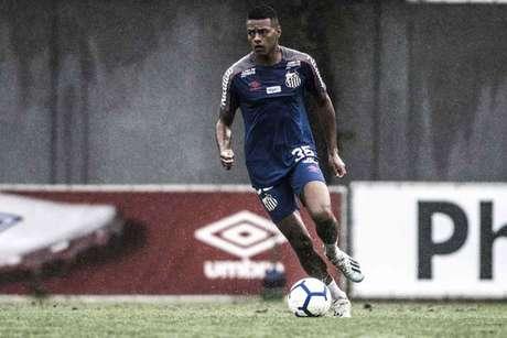 Tailson é opção para o ataque do Santos contra o Palmeiras, nesta quarta, na Vila Belmiro (Foto: Ivan Storti/Santos)