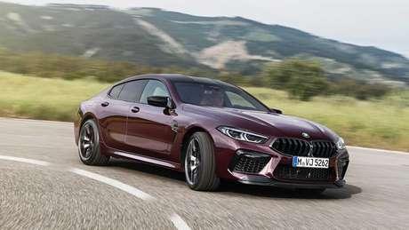 O novíssimo BMW M8 tem motor V8 de 625 cavalos.
