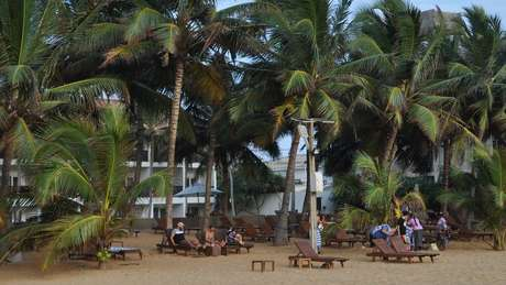 As praias não estão tão cheias quanto antes