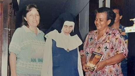 Mãe de Milena era voluntária das Osid e trabalhou ao lado da Irmã Dulce por anos