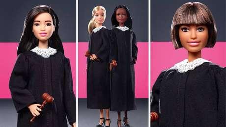 Coleção foi inspirada na baixa representatividade feminina nos tribunais dos Estados Unidos.