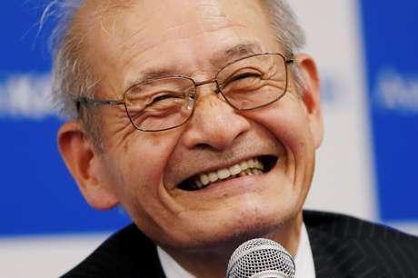 Akira Yoshino, um dos ganhadores do Nobel de Química, concede entrevista coletiva em Tóquio 09/10/2019 REUTERS/Issei Kato