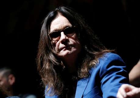 Ozzy Osbourne durante entrevista coletiva em Los Angeles 12/05/2016 REUTERS/Mario Anzuoni