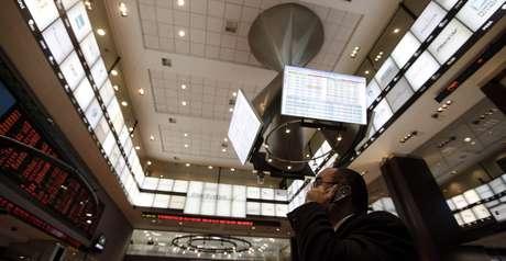 Bolsa de Valores de São Paulo  04/08/2011 REUTERS/Nacho Doce