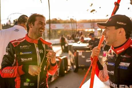 Na briga pelo título do Endurance e com chances matemáticas no IMSA, Nasr e Derani focam na vitória