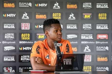 Cazares deve ser titular na partida contra o Flamengo, no Maracanã (Foto: Bruno Cantini/Atlético-MG)