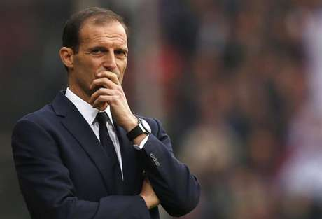 Allegri durante sua passagem pela Juve (Foto: AFP)