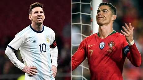 Messi sente falta de CR7 no Espanhol (Foto: AFP)