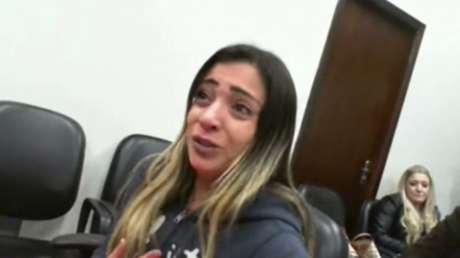 Cristiana Brittes teve a prisão preventiva revogada em 12 de setembro (Reprodução/ TJ-PR)