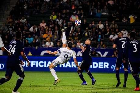 Ibra tem contrato com o LA Galaxy até dezembro (Foto: Divulgação / LA Galaxy)