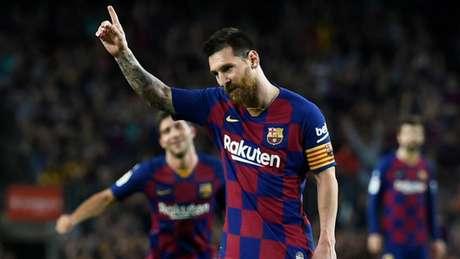 Messi queria retorno de Neymar ao Barcelona (Foto: Josep Lago / AFP)