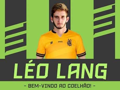 Léo Lang fica no Coelho até o fim de da temporada- (Divulgação/América-MG)
