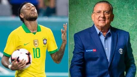 Transmissões da Seleção ficaram marcadas por vinheta e sob a voz de Galvão Bueno (Foto: Lucas Figueiredo/CBF e Divulgação/TV Globo)