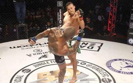 Jungle Fight No DAZN 96 acontecerá no próximo dia 19 de outubro, em Minas Gerais (Foto: Leonardo Fabri)