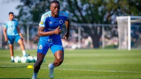 Joel foi contratado em 2015 e jogou 27 vezes pela Raposa, marcando cinco gols- (Vinnicius Silva/Cruzeiro)