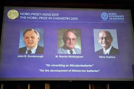 Anúncio dos vencedores do prêmio Nobel de Química 2019