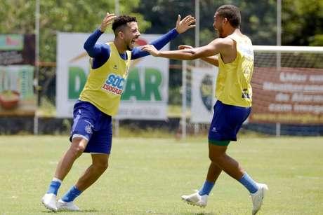 Bahia está a cinco pontos do G4 (Foto: Felipe Oliveira/Bahia)
