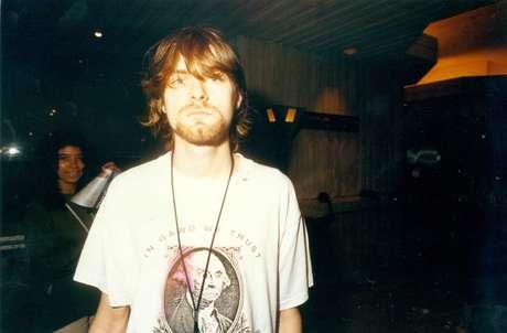 Kurt Cobain em 1993