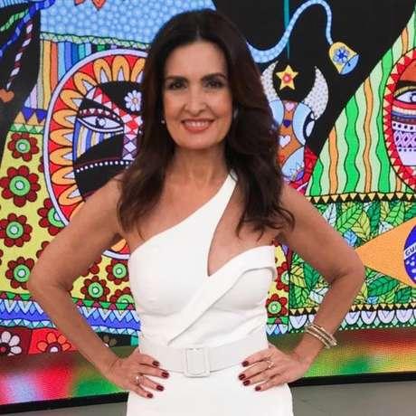 Fátima Bernardes em seu programa 'Encontro'