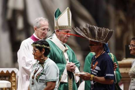 Missa de abertura do Sínodo da Amazônia, em 6 de outubro