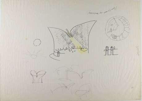 Projeto original de Niemeyer para Museu da Bíblia tem entrada superior para luz natural